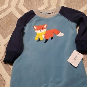 Carters fleece one piece